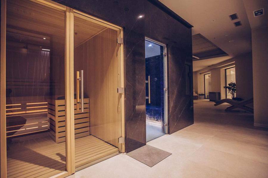 Mona Plaza sauna i parno kupatilo